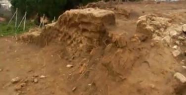 La villa romana venuta alla luce a Bacoli durante uno scavo