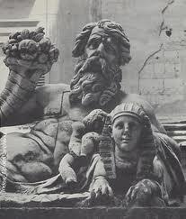 La statua del Nilo
