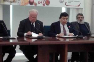 Da sinistra: Maurizio Barracco, Maurizio Maddaloni e Massimo Marrelli