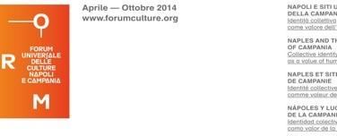 Il logo del Forum delle culture
