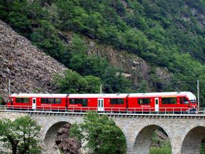 Il Viadotto di Brusio della Ferrovia Retica