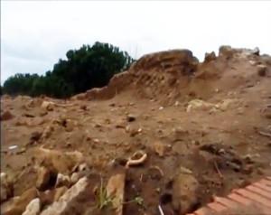 La villa romana scoperta a Bacoli