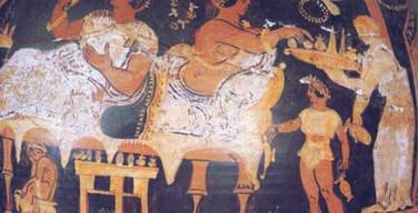 Banchetto nell'antica Grecia