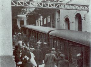 Viaggio inaugurale della Funicolare Centrale di Napoli nel 1928