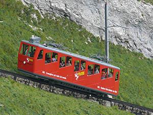 La Pilatus Bahn, la cremagliera più ripida del Mondo