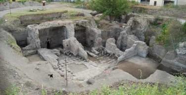 Resti di una villa romana a Pollena Trocchia