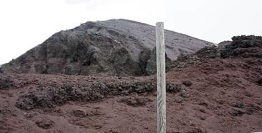 Creste intorno al cono del Vesuvio