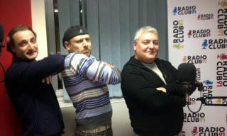 Gli studi di Radio Club 91