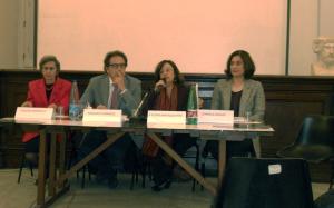 Nella foto da sinistra: Valeria Sanpaolo, Pasquale Sommese, Elena Cinquantaquattro e Carmela Capaldi