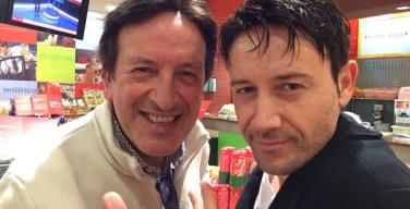 Tommy Esposito (a sinistra) e Francesco Boccia