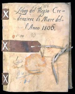 Il libro del Regio Credenziere di Mare dell'anno 1806