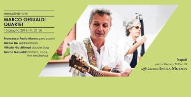 Marco Gesualdi Quartet a Intra Moenia
