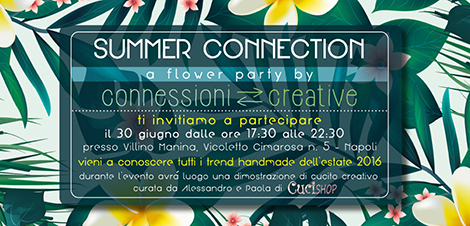 Flower Party a Villino Manina