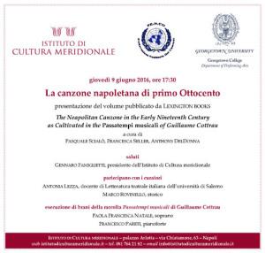 La locandina-invito dell'evento