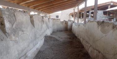 Gli scavi di Villa Arianna