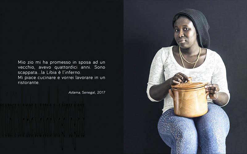 Rifugiati con le loro storie al Pan di Napoli